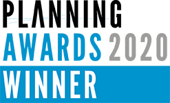 Planning Award 2020 winner's logo