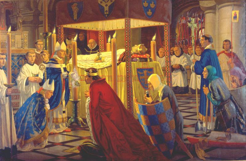 Burial of Henry I
