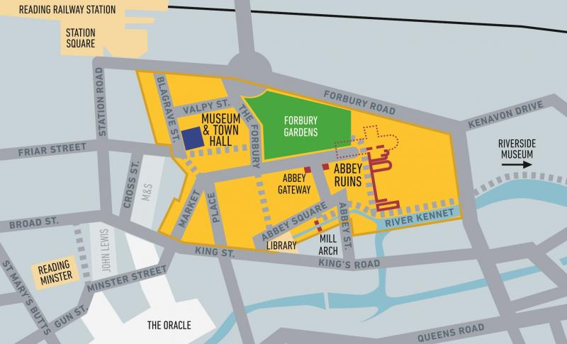 Abbey Quarter Map