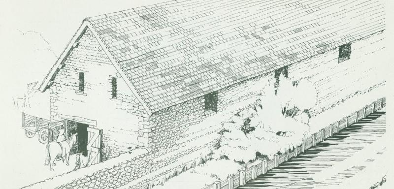 Reconstruction of Reading Abbey Stables