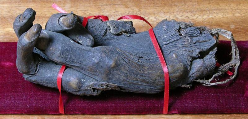 Hand of St James relic from Marlow