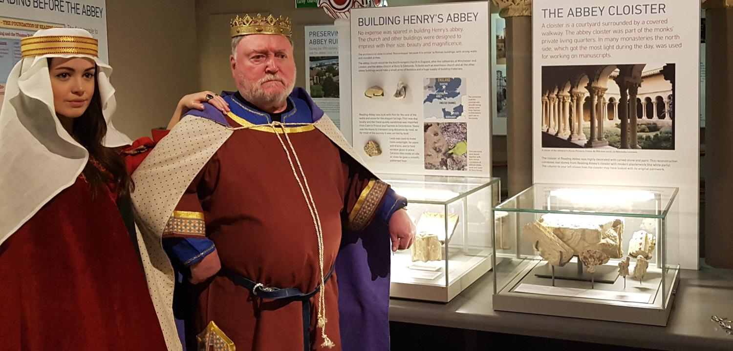 King Henry and Empress Matilda in the Story of Reading Gallery