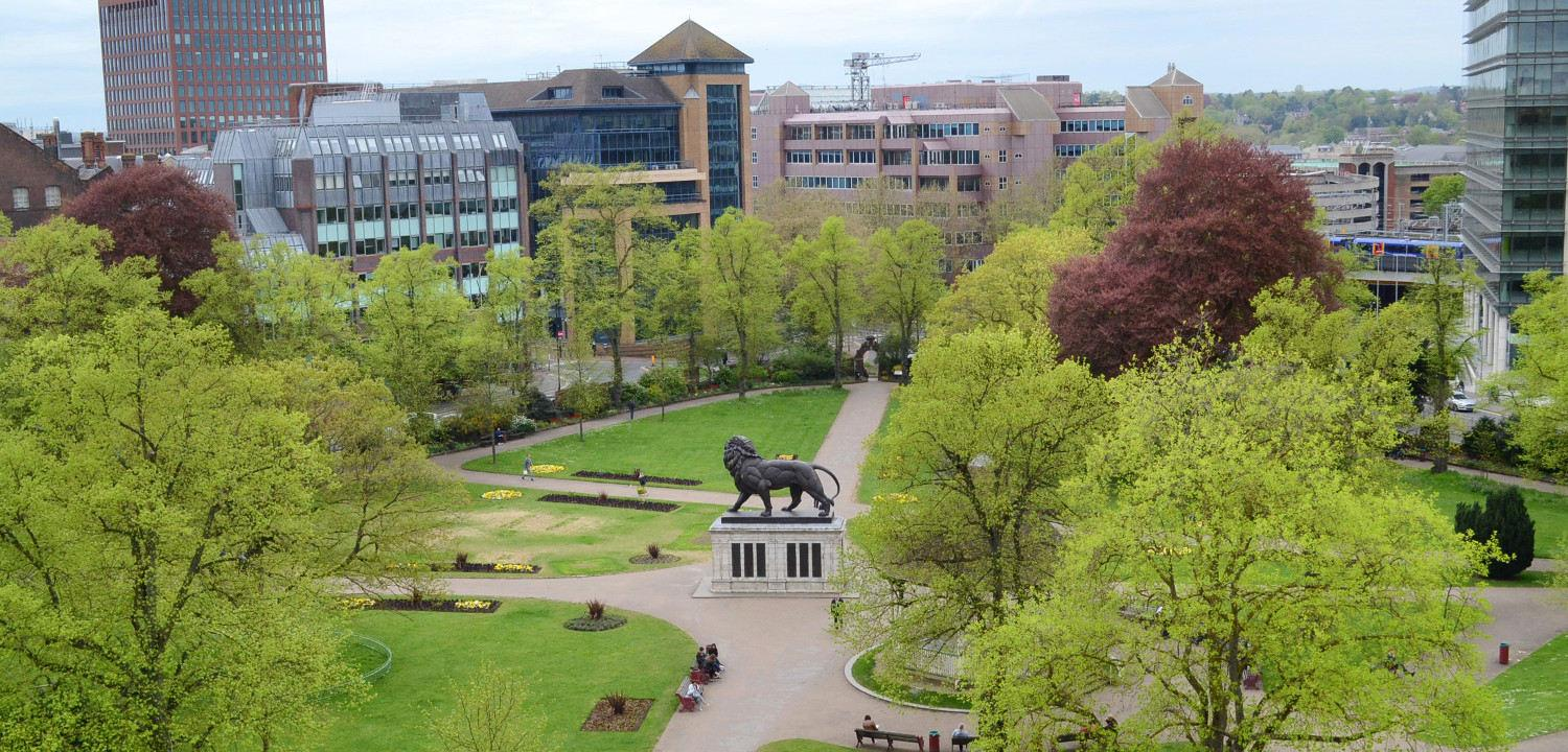 Chris Forsey - Forbury Ariel Shot