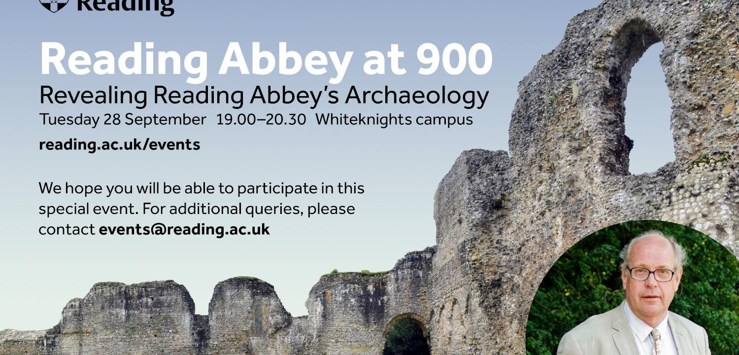 Reading Abbey 900 lecture information