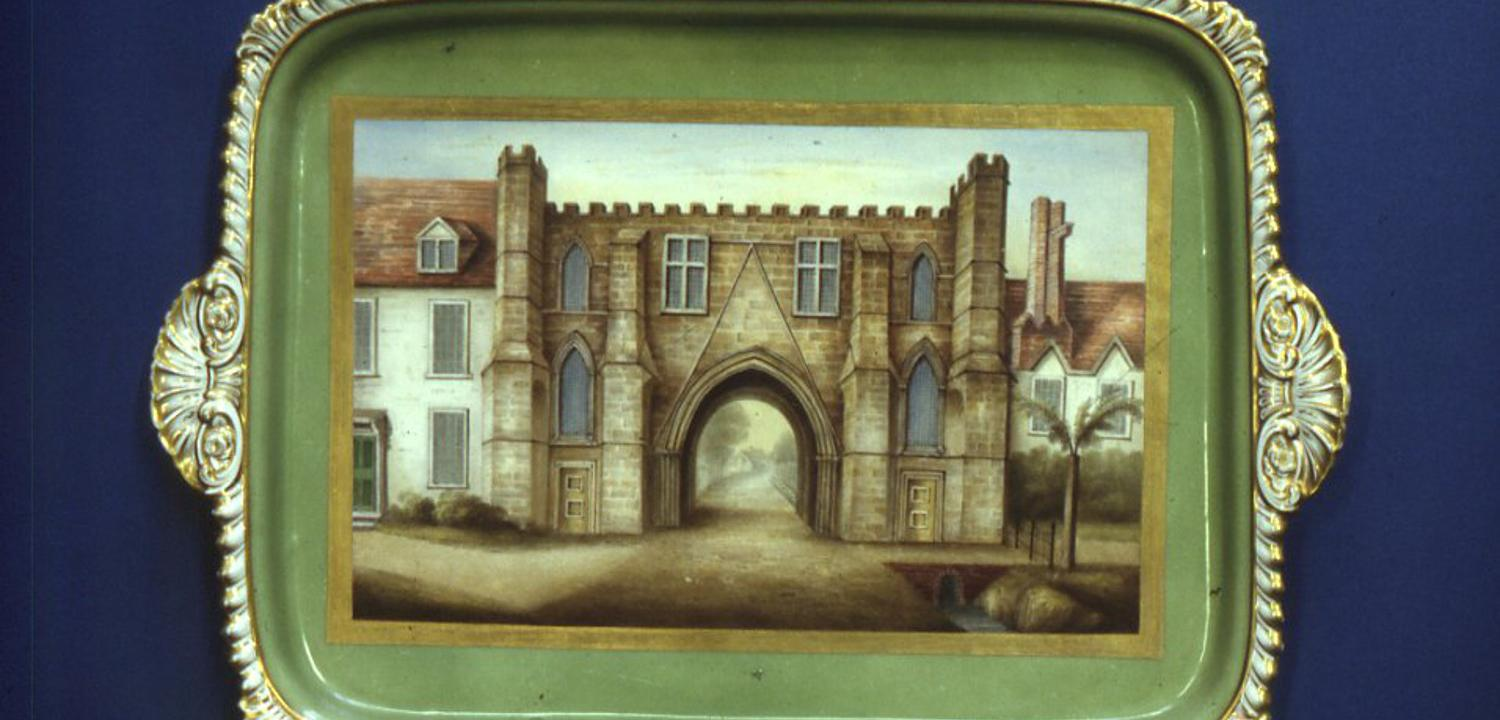 Abbey Gateway tray 1820s