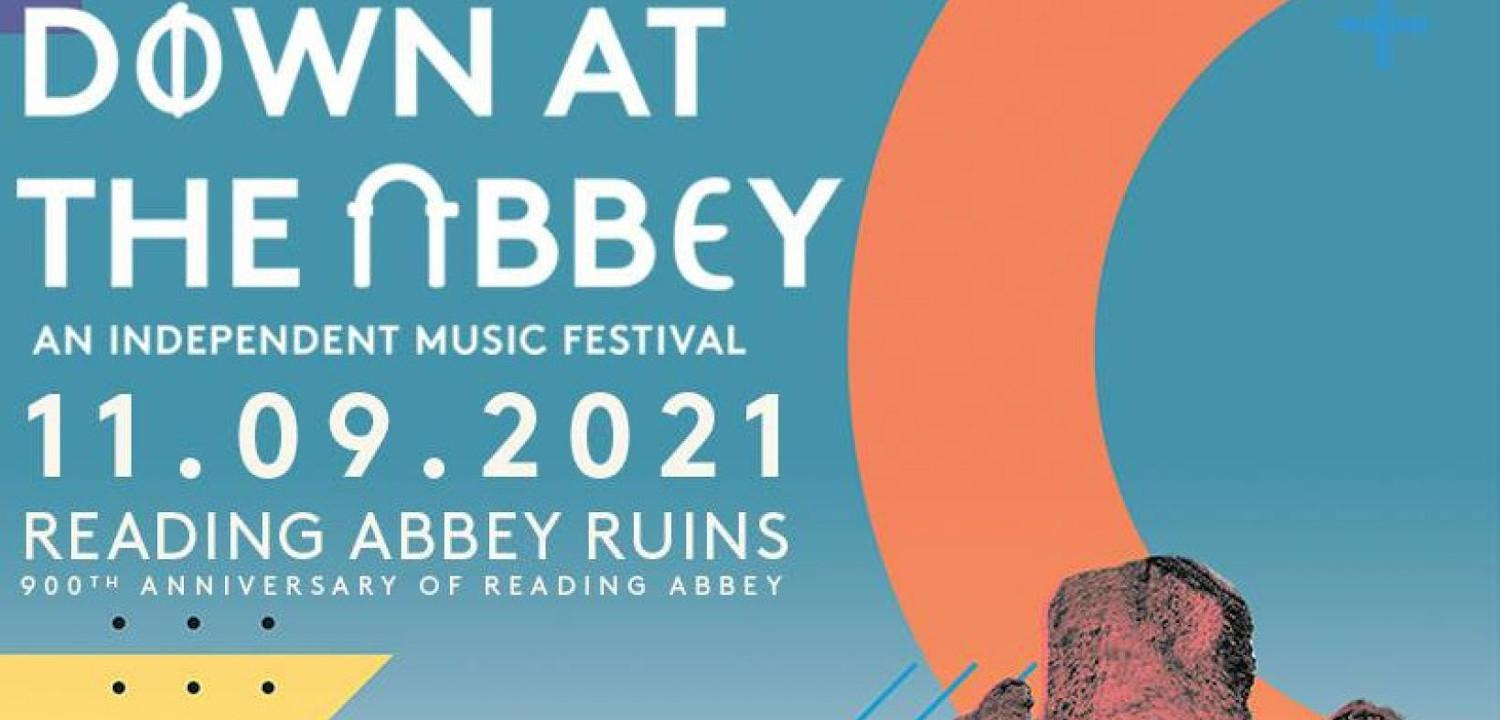 Down at the Abbey Festival Poster