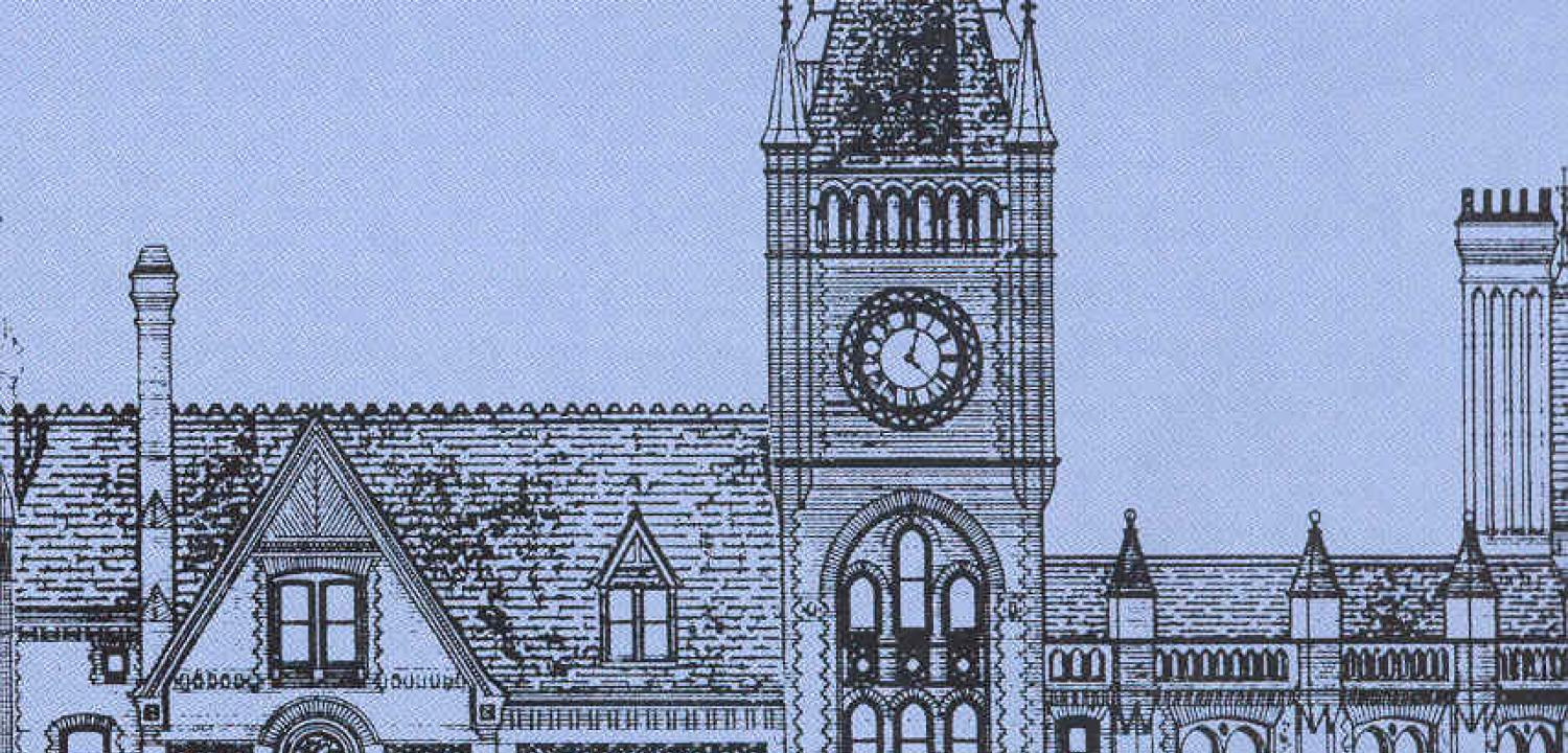 Town Hall exterior drawing