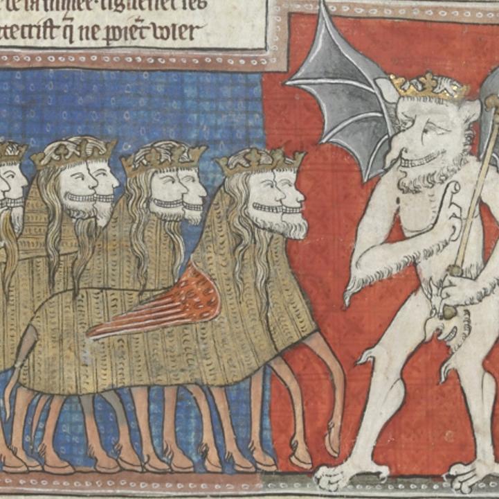 British Library manuscript of the Apocalypse.