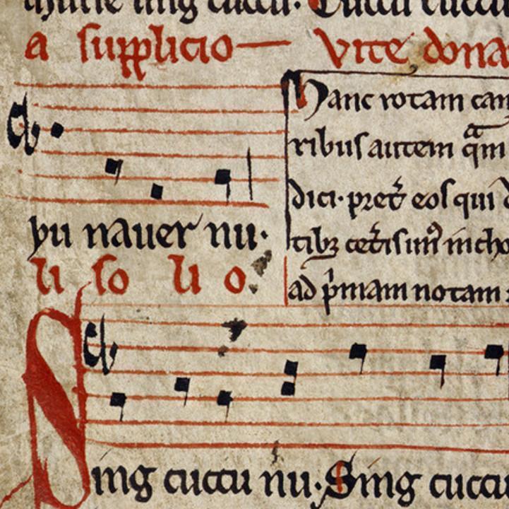 Sumer is Icumen in manuscript