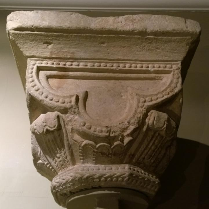 Stone capital from Reading Abbey