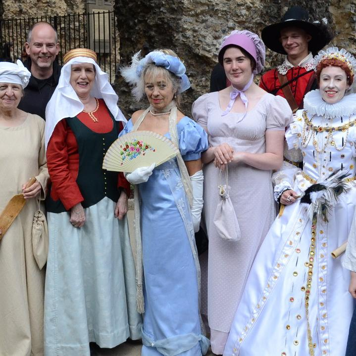 Costumed Tours