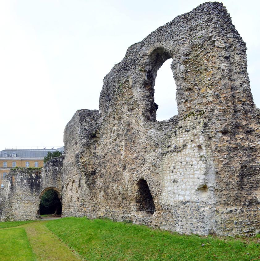 abbey dormitory with The Blade