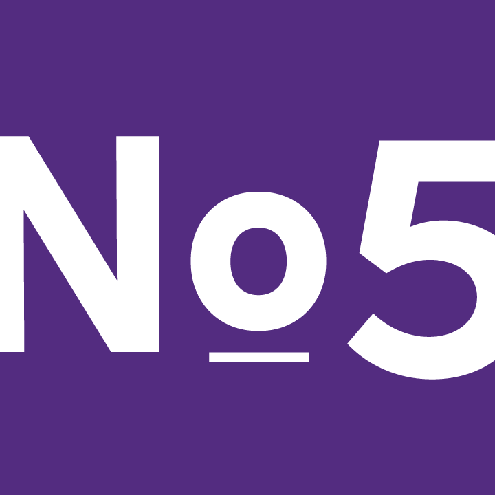 No.5 Young People Logo