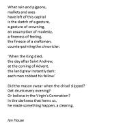 A poem written about Queen Elizabeth 2