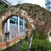 Reading Abbey mill arches